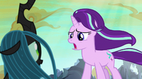 Starlight Glimmer --you don't have to!-- S6E26