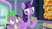 "Twilight Sparkle ""we'd better get to cleaning"" S7E3"