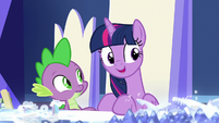 "Twilight Sparkle ""we need to find items"" S7E25"