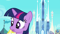Twilight hearing Spike S3E2