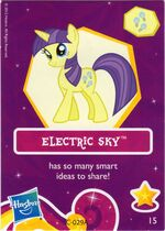 Wave 6 Electric Sky collector card
