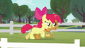 Apple Bloom and Babs sweating S3E08.png