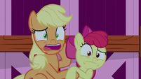 """Applejack """"in his sleep this whole time!"""" S9E10"""