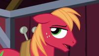 Big Mac unhappily sighs S5E17