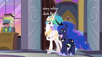 "Celestia ""we know you're busy planning"" S9E17"