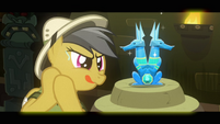 Daring Do nervous preparation S2E16