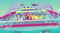 Equestria Girls singing with dolphins EGDS41