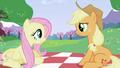 Fluttershy and Applejack S2E03.png