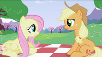 Fluttershy and Applejack S2E03