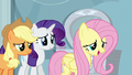 Fluttershy asks Rainbow how she's feeling S5E5.png