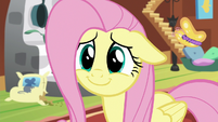 Fluttershy giving a very adorable smile S7E5