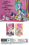 Friends Forever issue 22 credits page