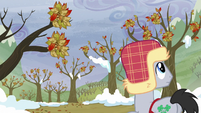 Lucky Clover sees trees with leaves intact S5E5