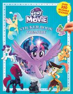 MLP The Movie Sticker Book Treasury cover