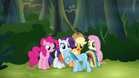 "Main ponies ""we can't go back now"" S4E04"