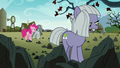 Pinkie, Marble, and Limestone on the farm S8E3.png