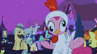 Pinkie Pie acts like a chicken S2E04