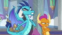 "Princess Ember ""as Dragon Lord"" S8E1"