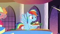 "Rainbow ""No, it's broccoli!"" S5E15"