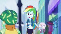 "Rainbow Dash ""I choose my path"" EGDS42"