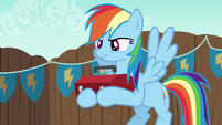 Rainbow Dash becoming annoyed S6E14