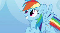Rainbow Dash proud of Sludge S8E24