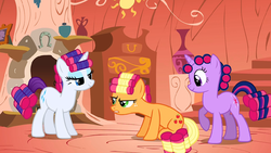 Rarity, Applejack and Twilight makeovers S01E08