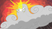 Rarity-cloud using her magic S4E19
