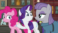 Rarity --how did you know where he'd be--- S6E3