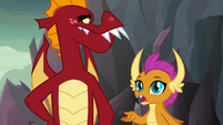 "Smolder ""only one Garble will perform for"" S9E9"