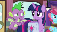 "Spike ""still think you can win?"" S9E16"