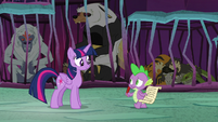 Spike -he's probably got some magic- S8E26