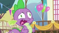 Spike hyperventilating rapidly S7E15