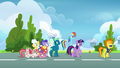Spitfire walking away from Twilight and Rainbow S6E24.png