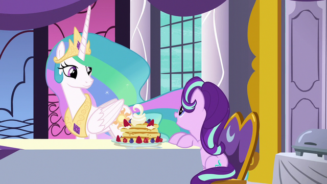 "File:Starlight ""I can't believe you cook it yourself"" S7E10.png"