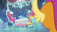 Stepford Ponies invite Smolder to join S8E22