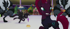 Tempest glaring back at Grubber MLPTM