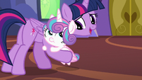 "Twilight ""that was a very advanced spell"" S7E3"