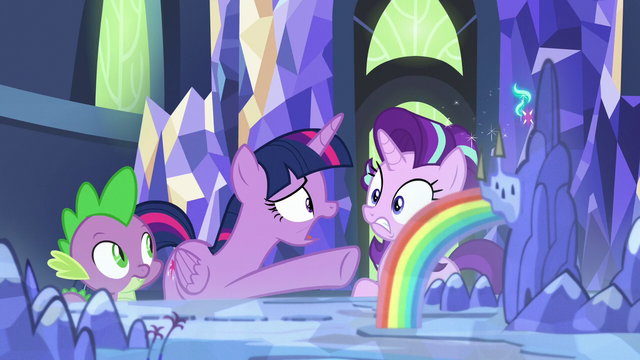 """File:Twilight """"you're being called to the royal palace!"""" S7E10.png"""