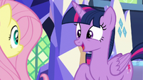 Twilight Sparkle -this is the first time- S8E23