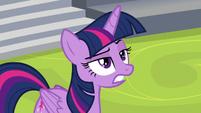 Twilight sarcastically thanking Starlight S8E7