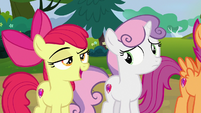 "Apple Bloom ""Rumble isn't afraid of bein' put in a box"" S7E21"