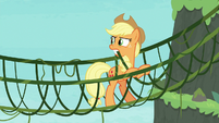 "Applejack ""why use a branch when"" S8E9"