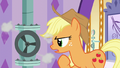 Applejack looking at the leaky pipe again S6E10.png