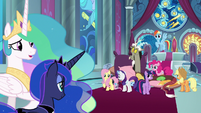 "Celestia ""made yourselves at home"" S9E2"