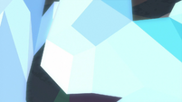 Crystals glowing on the cave walls S8E22