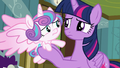 Flurry Heart whiffles her hoof at Twilight S7E3.png