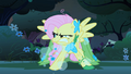 Fluttershy huffing S1E26.png