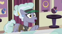 Jeweler Pony asks about cinnamon nuts S7E2