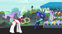 Luna checks zip-lining off the bucket list S9E13